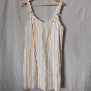 Cato Yellow Striped Summer Dress